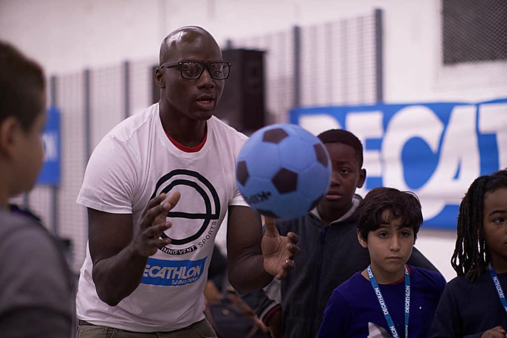 Foot avec Innœvent'Sports et Décathlon