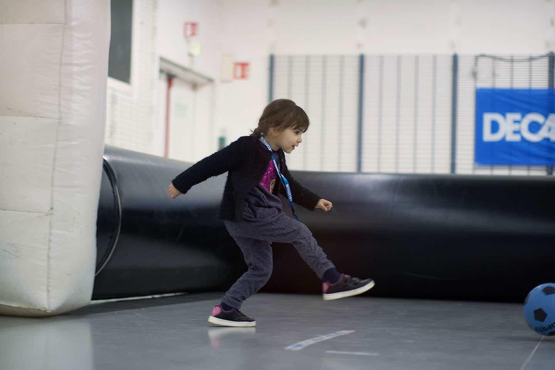 Session foot pour les enfants avec Décathlon