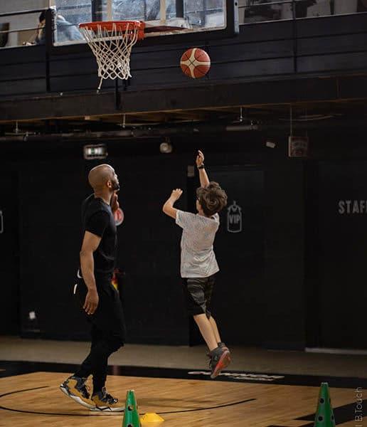 Basket avec l'association Innœvent'Sports et Decathlon